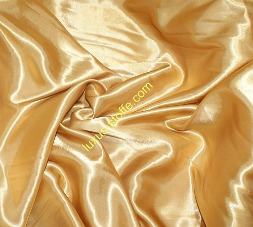 Satin Stoff ,gold